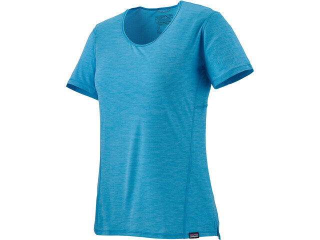 Patagonia Capilene Cool Lightweight Shirt Damen joya blue - dark joya blue x-dye
